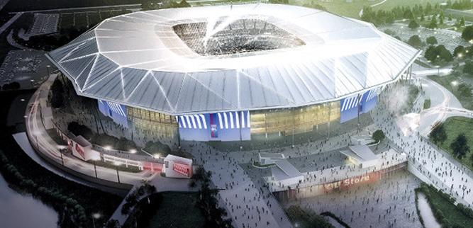 Kleslo - Stade des Lumières Lyon