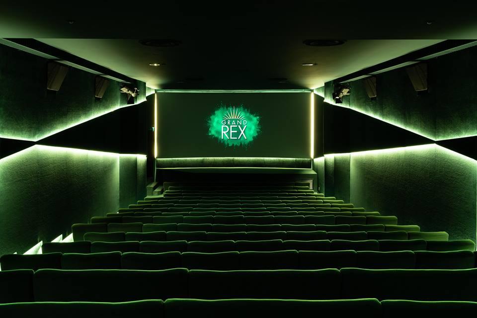 Kleslo - fauteuil Inertie - Leader de fabrication de fauteuils cinéma, théâtre ...Le grand rex de paris V1 salle 5