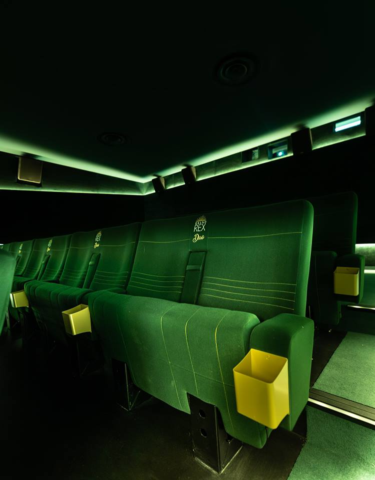 Kleslo - fauteuil Inertie - Leader de fabrication de fauteuils cinéma, théâtre ...Le grand rex de paris V3 salle 5