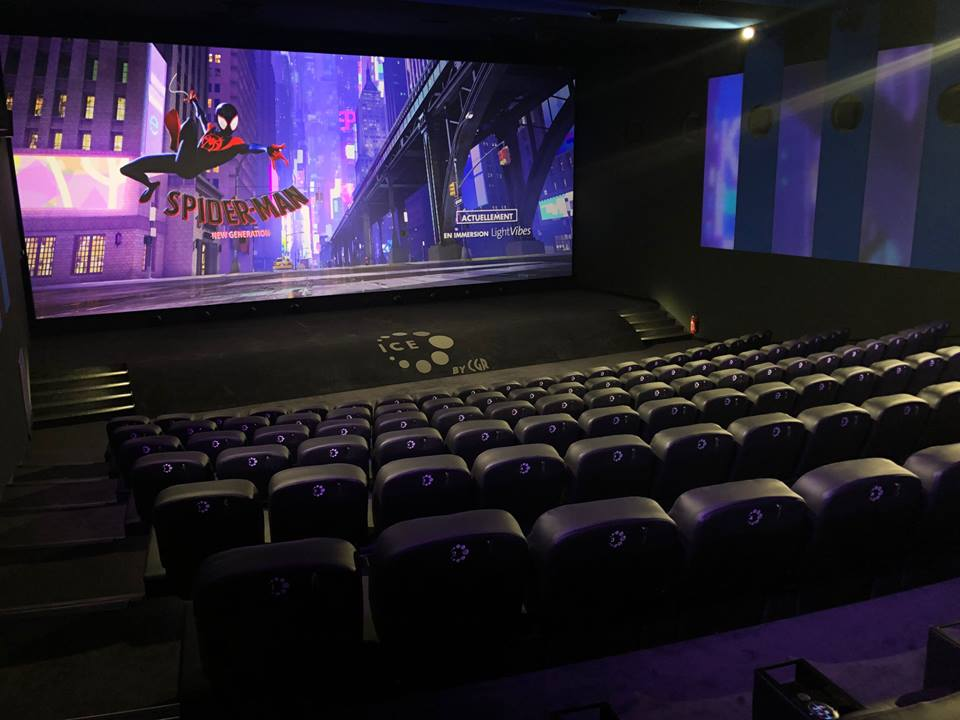 Kleslo - fauteuil Inertie - Leader de fabrication de fauteuils cinéma, théâtre ...SALLE Ice by CGR tours 2 lions