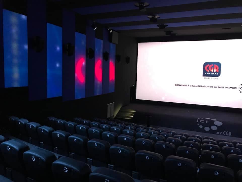 Kleslo - fauteuil Inertie - Leader de fabrication de fauteuils cinéma, théâtre ...SALLE Ice by CGR tours 2 lions v22