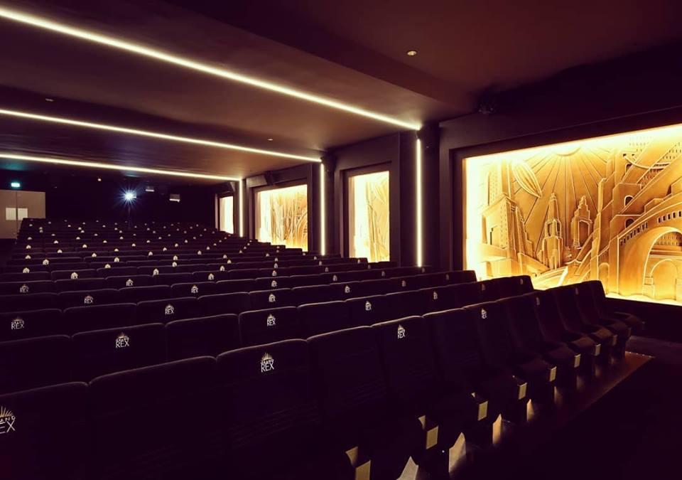 Kleslo - fauteuil Inertie - Leader de fabrication de fauteuils cinéma, théâtre ...Le grand rex de paris V2 salle 3