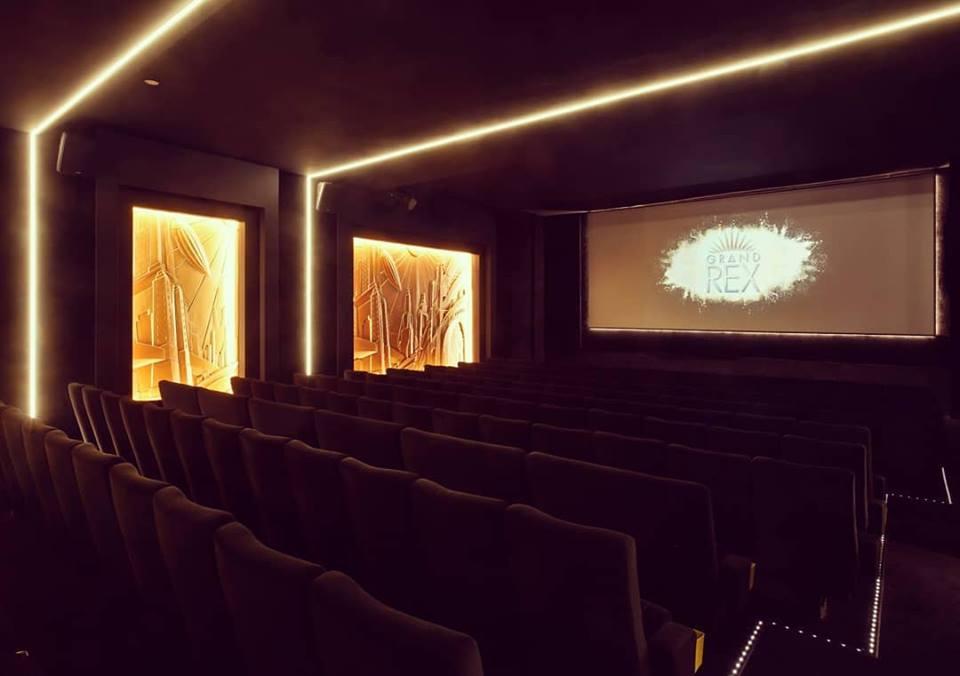 Kleslo - fauteuil Inertie - Leader de fabrication de fauteuils cinéma, théâtre ...Le grand rex de paris V1 salle 3