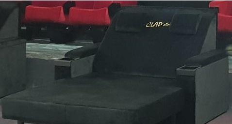 Kleslo - Banquette sur mesure de restaurant, Hall d'aceuil - Leader de fabrication de fauteuils cinéma, théâtre ... Cinéma Ugc Debroukère belgique