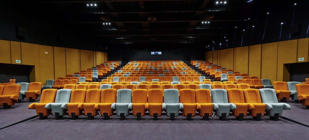 Kleslo - réalisation Fauteuil cinéma Le Cinos Troyes