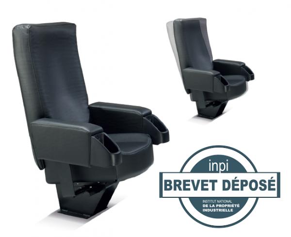 Kleslo -Atrium Leader de fabrication de fauteuils cinéma, théâtre ...drift fauteuil avec brevet