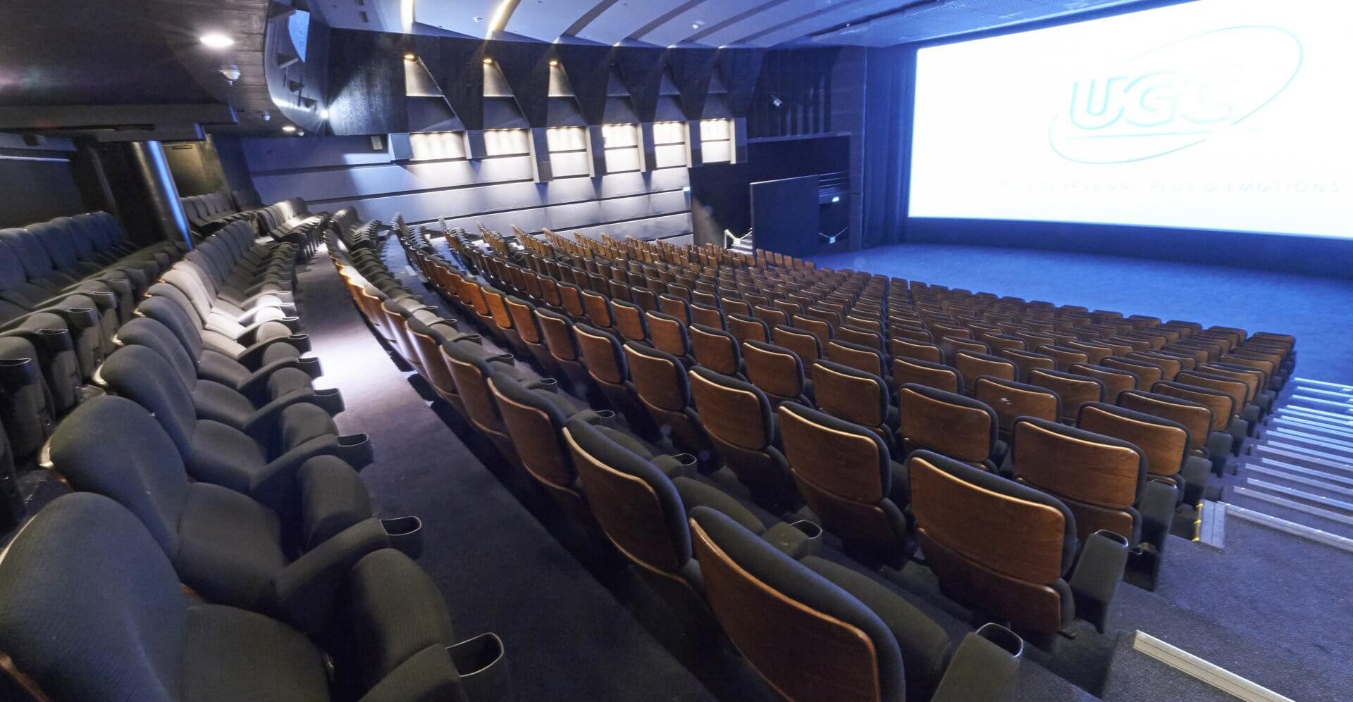 Kleslo -Ottoman Inertie - Leader de fabrication de fauteuils cinéma, théâtre ...UGC les hallesv2