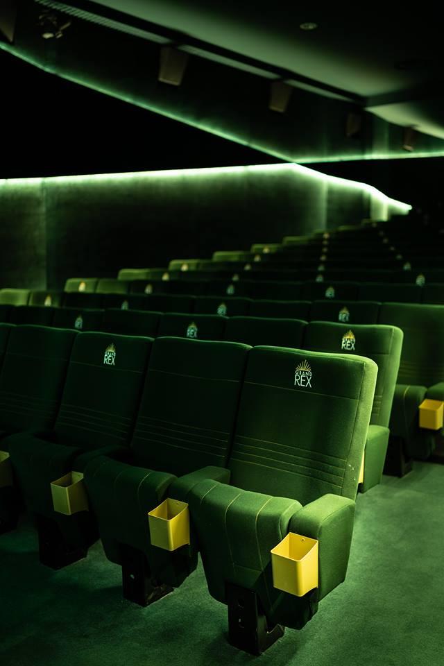 Kleslo - fauteuil Inertie - Leader de fabrication de fauteuils cinéma, théâtre ...Le grand rex de paris V2 salle 5