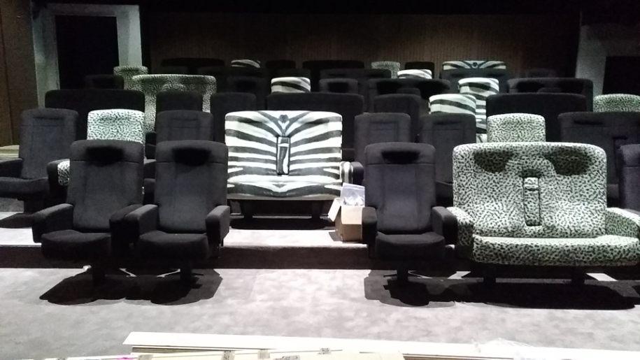 Leader de fabrication de fauteuils cinéma, théâtre ...Loge Vip Espace philippe noiret les clayes sous boisV2 v2
