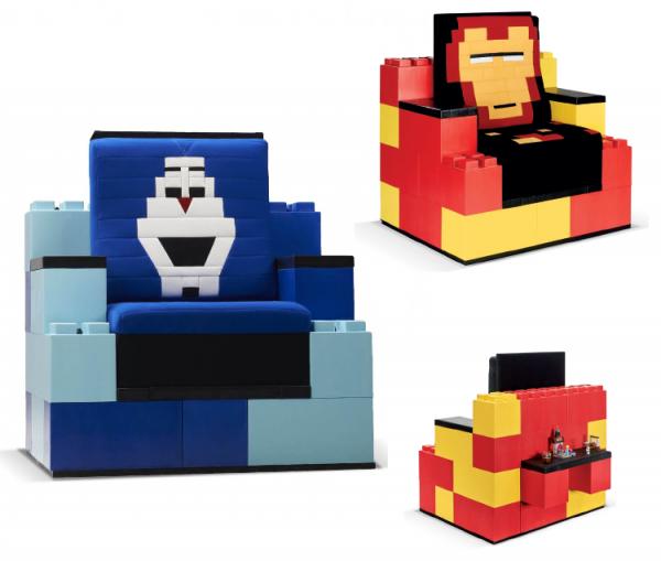 LEGO-face1 et 2 Leader de fabrication de fauteuils cinéma, théâtre ...Loge Vip Espace philippe noiret les clayes sous boisV2 v2