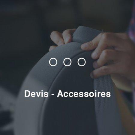 Devis - Accessoires