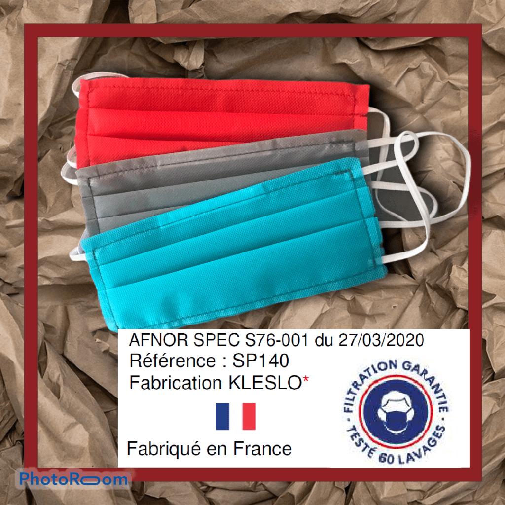 Kleslo - fauteuil Inertie - Leader de fabrication de fauteuils cinéma, théâtre ... masque covid19