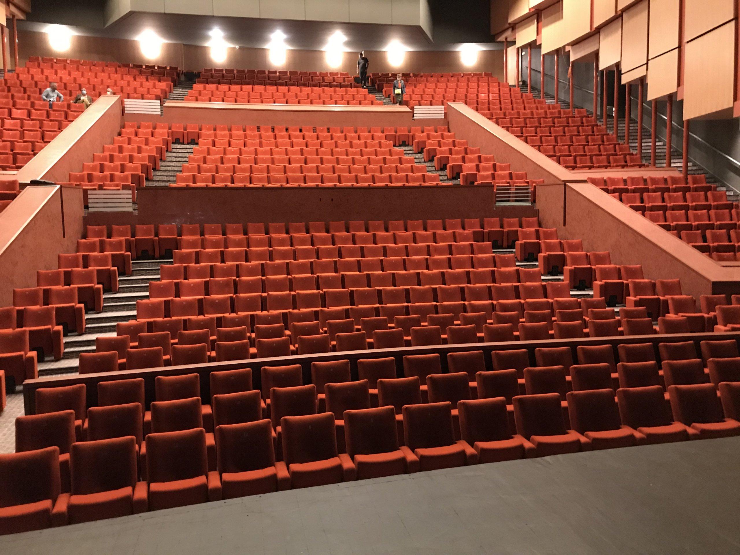 Kleslo - fauteuil Inertie - Leader de fabrication de fauteuils cinéma, théâtre ... Opéra Massy v2