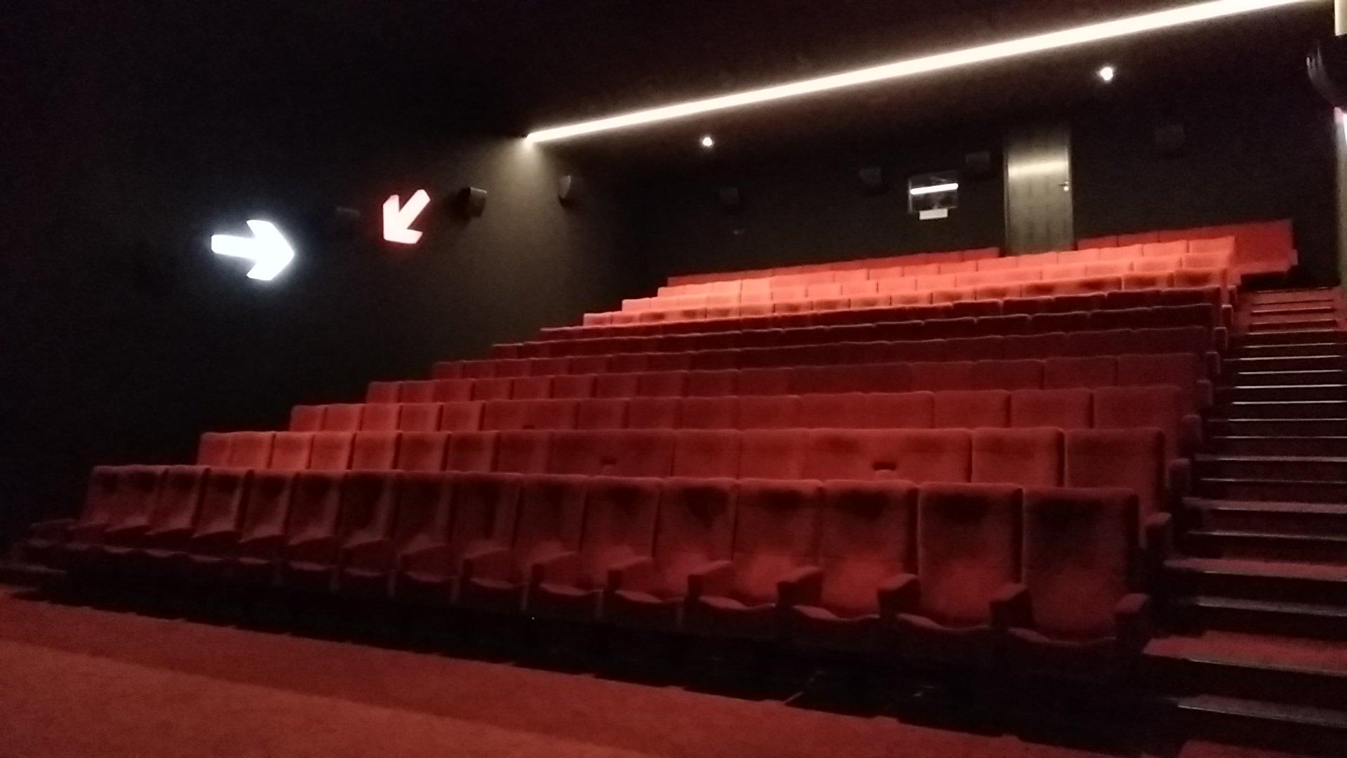 Kleslo - fauteuil Inertie - Leader de fabrication de fauteuils cinéma, théâtre ... Cinéma confluence sablé sur Sarthe v3