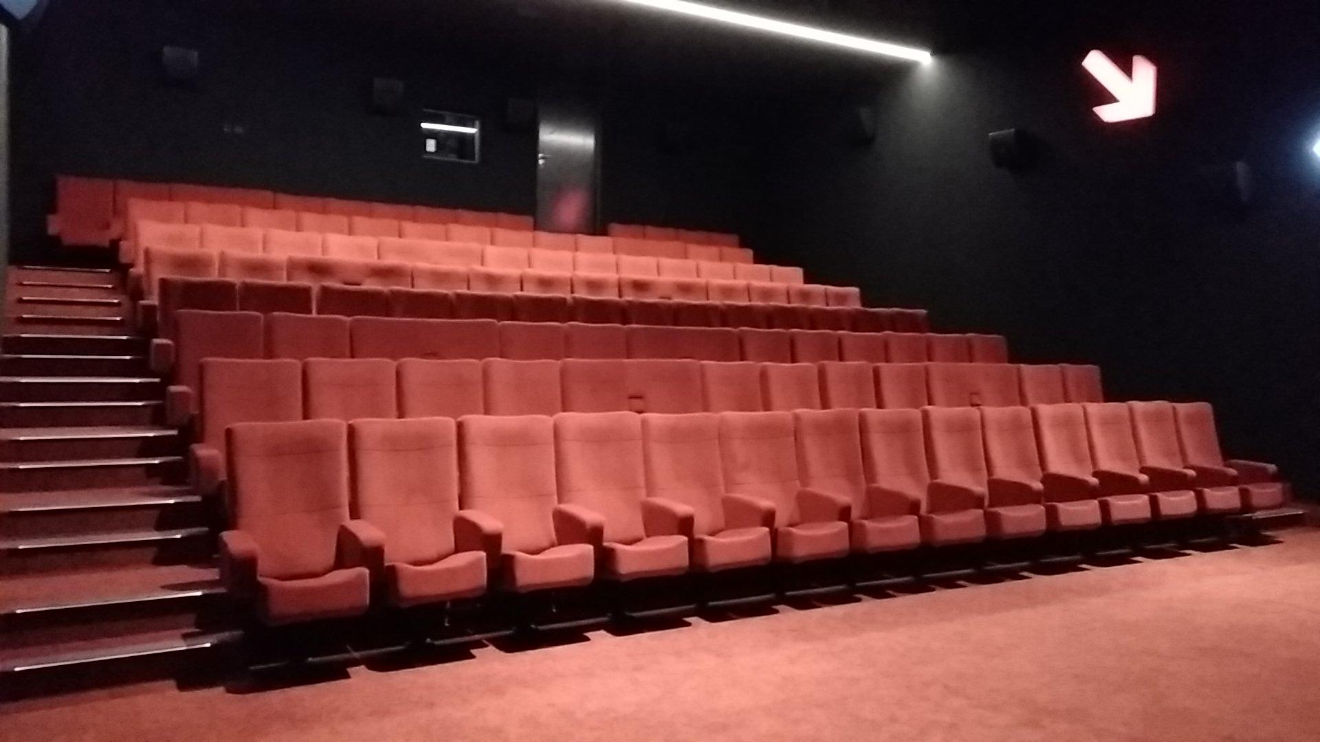 Kleslo - fauteuil Inertie - Leader de fabrication de fauteuils cinéma, théâtre ... Cinéma confluence sablé sur Sarthe v2